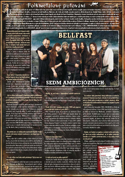 Bellfast interview on Spark Magazine